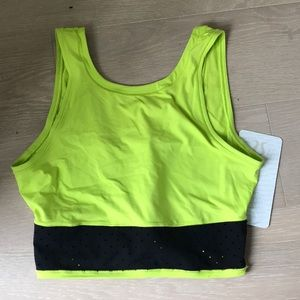 Lululemon Mind over miles crop top